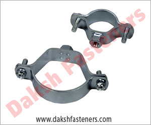 steel pipe clamp - strut clamps  manufacturers exporters india