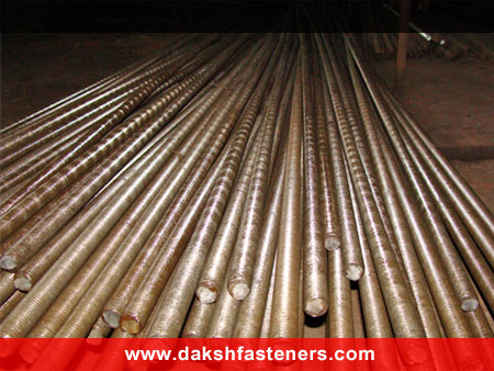 thread rods - coil rods - threaded bars - tie rods manufacturers exporters india