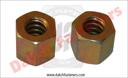coil rod nuts - tie rods hex nuts manufacturers exporters india