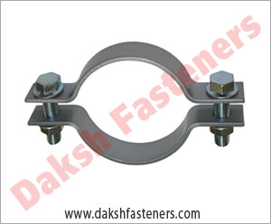 pipe clamp with bolts and nuts - strut clamps  manufacturers exporters india