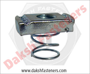 spring channel nut - strut nut - kwick nut manufacturers exporters india