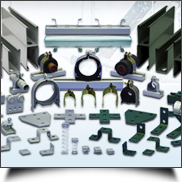 strut support fittings manufacturers exporters india